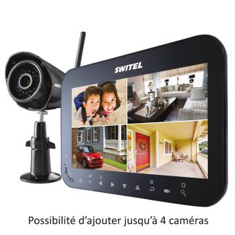 syst me de vid o surveillance professionnel sans fil jusqu 39 4 vues possibles avec moniteur. Black Bedroom Furniture Sets. Home Design Ideas