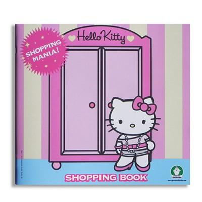 Cahier range-cartes à collectionner - Hello Kitty