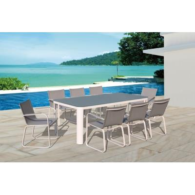 Table et chaises de jardin en aluminium haut de gamme - sydney ...