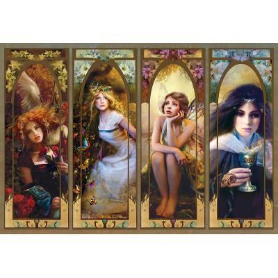 Trefl - Puzzle 1500 pièces : Collage fantastique
