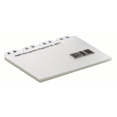 Han- fiches bristol & intercalaires - intercalaires pour fiche bristol, han 9871