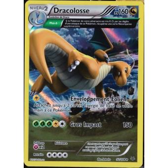 Carte pok mon 52 108 dracolosse 160 pv super rare xy 6 - Photo de pokemon rare ...