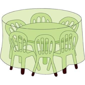 Housse De Protection Pour Table Ronde 93344 (Ø X H) 200 Cm X ...