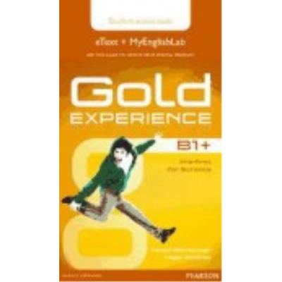 Gold Experience B1+: Student'S (Etext With Myenglishlab Internet Access Card) - Barraclough, Carolyn, Roderick, Megan