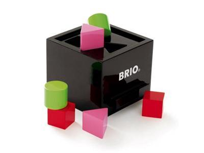 Brio 30144 Boite A Formes Laquee Noire