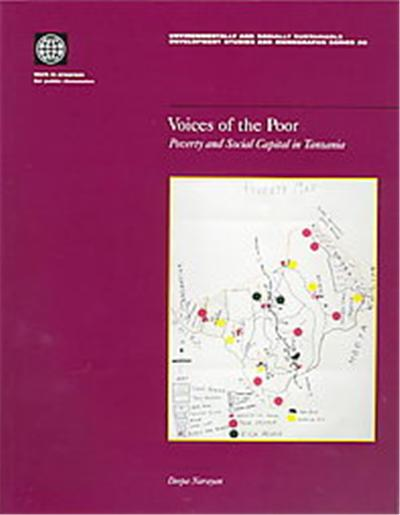 Voices of the Poor, Environmentally Sustainable Development Studies and Monographs Series, No. 20