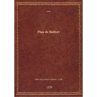 Plan de Belfort
