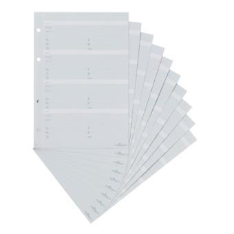 Durable 245610 recharge pour répertoire téléphonique telindex a5 gris 10 feuilles - Carnets et ...