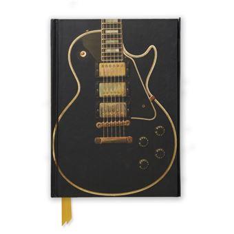 Gibson les paul black guitar (foile