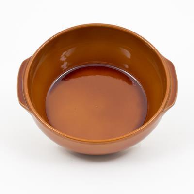 Plat creux n°8 25x9 cm digoin ceramiques pcr08po