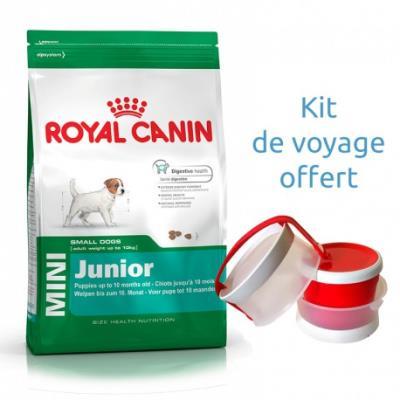 Croquettes royal canin mini junior sac 4 kg
