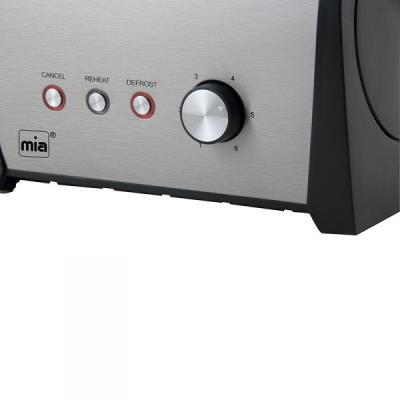 Grille-pain style rétro double fente 800 Watts Mia-Germany TA 0081
