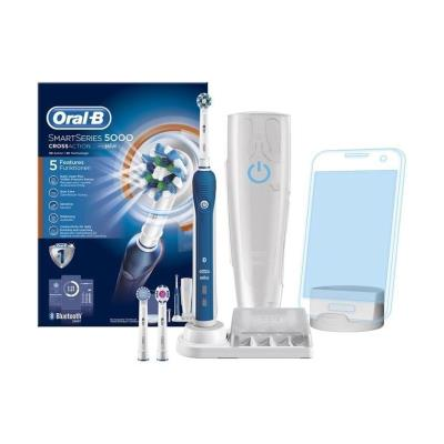 Brosse a dents électrique - oral-b smart series 5000 par braun