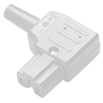 Pour les appareils produisant de la chaleur comme les aspirateurs industriels, les plaques électriques mobiles, les gauffriers ou les fers à repasser avec câble amovible.Conditionnement 1 pc(s)Connexion à visContact avancé (PE) ouiCouleur blancCourant nom