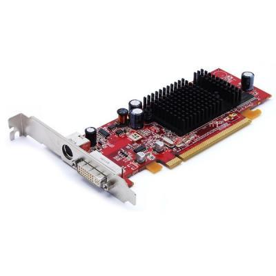 Fabricant : ATI GPU : ATI Radeon X600 Mémoire : 128MB Sorties : DVI-I et S-video Interface : PCI-Express x16 Refroidissement : Radiateur passif Référence : 102A2604402 Produit de seconde main testé Livrée sans boite, sans Documentation ni Logiciels/Pilote