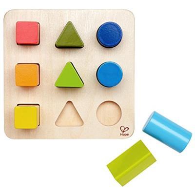 Hape - e0426 - jouet de premier age - jeu de formes et de couleurs