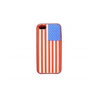 coque iphone 5 unis rouge