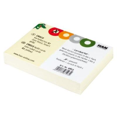 Han- fiches bristol & intercalaires - fiches bristol, han 9812