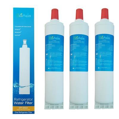 3 Filtres Ecoaqua Eff6002A Remplace Whirlpool Sbs002, Sbs001, Sbs200
