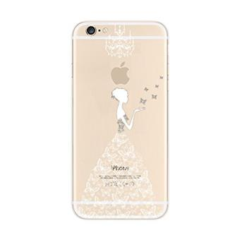 coque iphone 6 transparente motif