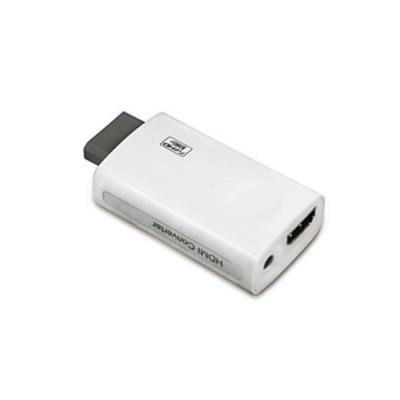 Compatibilité: Nintendo WiiCaracteristiques: MiniContenus du colis: 1 Adaptateur Connexion: Audio et vidéoInterface: Sans filMatériel: Polycarbonate Type d'accessoire: Câbles et adaptateursType de produit: Wii Accessories