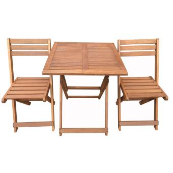 salon de jardin en bois exotique hano maple marron clair table pliante carr e 60 x 60. Black Bedroom Furniture Sets. Home Design Ideas