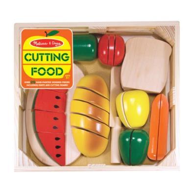 Melissa & doug - 10487 - aliments à couper en bois