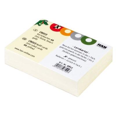 Han- fiches bristol & intercalaires - fiches bristol, han 9813