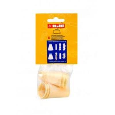 IBILI - Ustensiles et accessoires de cuisine - lot de 6 douilles plastique ( 768300-6 )