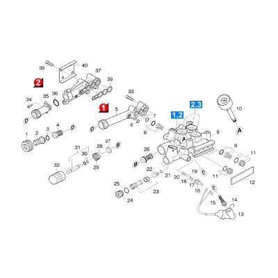 Karcher Manometre Rep 10 Pour Nettoyeur Haute-pression Ref: 64213493