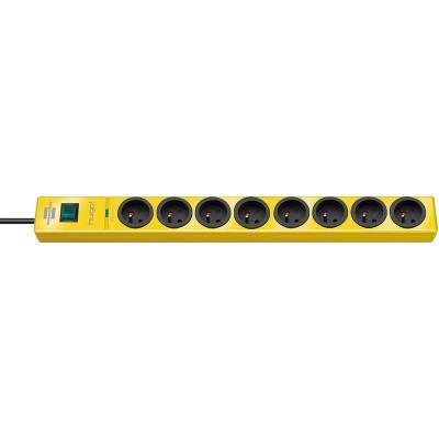 Brennenstuhl - brennenstuhl multiprise parafoudre hugo!, 8 prises, jaune 1150611368