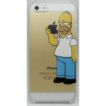 Etui Houe Coque Gel Silicone Souple Iphone 4 Iphone 4S Homer Simpsons 1 FX