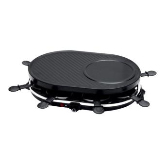 Naélia RGL-H3002-NAE - raclette/grill/pannenkoekpan - zwart