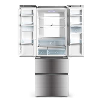 Réfrigérateur Multiportes Haier BFECMJW SILVER Achat Prix - Réfrigérateur multi porte