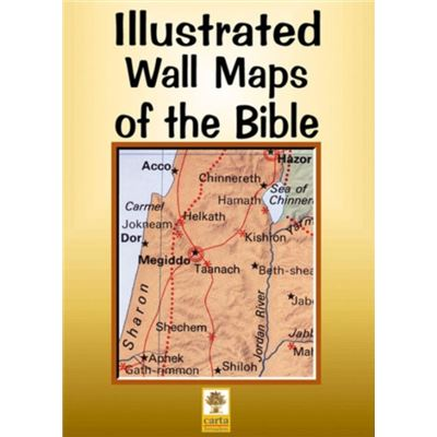 Iiustrated Wall Maps Of The Bible (Map)