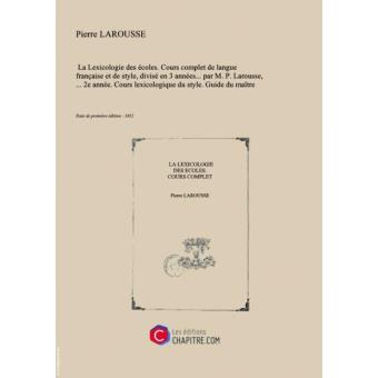 COURS DE LEXICOLOGIE FRANCAISE EPUB DOWNLOAD