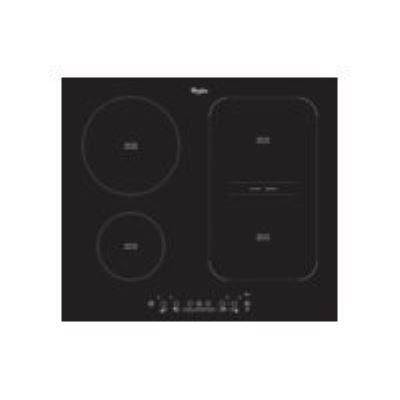 Whirlpool ACM 808 NE - Table de cuisson à induction - 4 plaques de cuisson - Niche - largeur : 56 cm - profondeur : 49 cm - noir