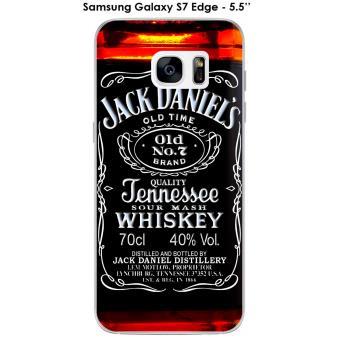 Coque Samsung Galaxy S7 Edge design Jack Daniel's