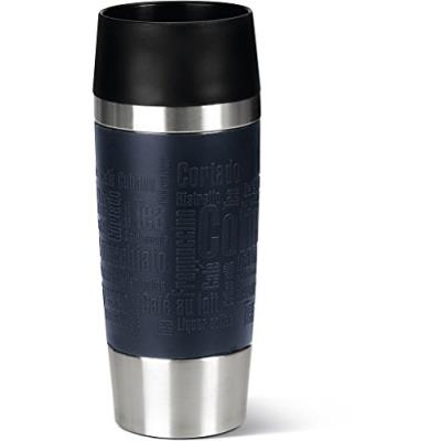 Mug isotherme EMSA Travel Mug Bleu 360 ml