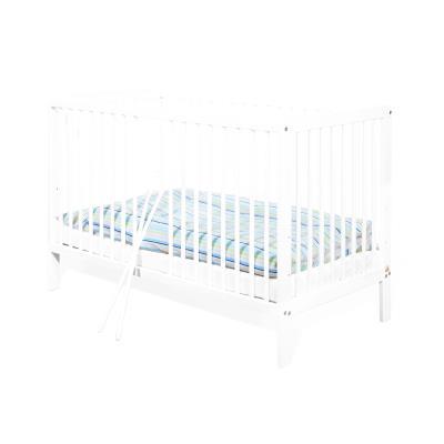 Pinolino - Lit bébé à barreaux 120 x 60 cm - pin massif blanc