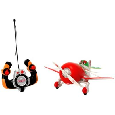 Dickie toys 203089804 - disney avions rc, avion driving el chupacabra, radiocommande 2 canaux, turbo, dérive du corps, 27 et 40