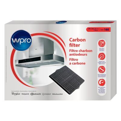 Filtre de hotte anti odeurs Wpro FILTRE CHF007/2
