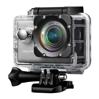 Caméra Sport 4K Wifi Caméscope Sportive UHD avec Capteur Sony IMX117 Exmor  R Caméra d'Action 20MP Étanche Sous-Marin 30m et 2 Batterie Incluses