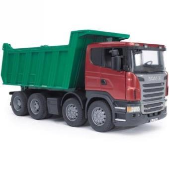 bruder camion benne scania r serie camion achat prix fnac. Black Bedroom Furniture Sets. Home Design Ideas