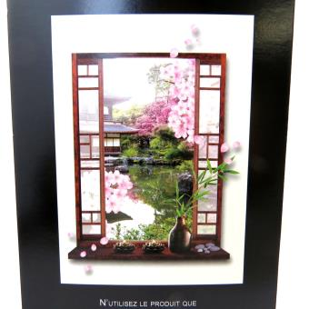 Les Trésors De Lily [M5228] - Sticker trompe l\'oeil \'Jardin Japonais ...
