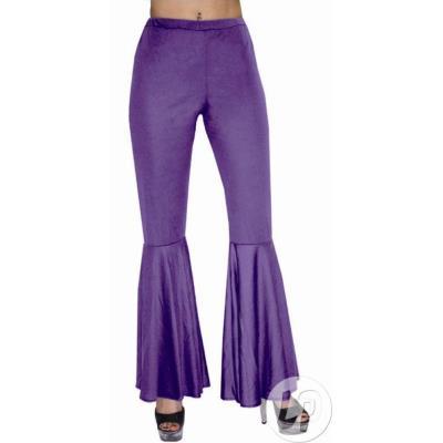Pantalon HIPPIE / DISCO violet (44/46)