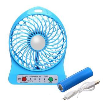 mini ventilateur de poche refroidisseur rechargeable usb bleu autre moyen gadget top prix fnac. Black Bedroom Furniture Sets. Home Design Ideas
