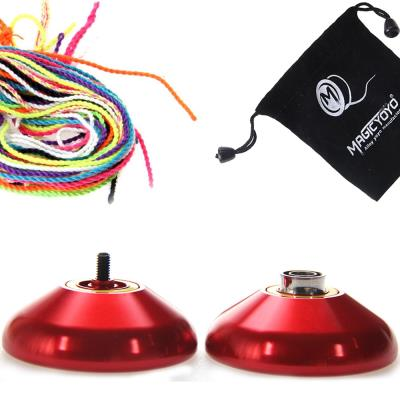Yoyo n9 floating cloud uni rouge + 10 ficelles + housse