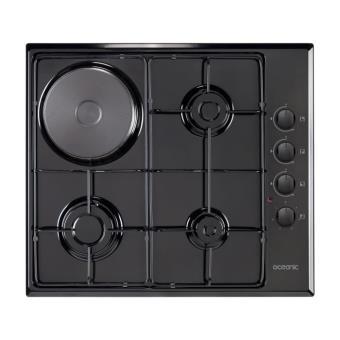 oceanic ctm3g1eb table de cuisson mixte achat prix fnac. Black Bedroom Furniture Sets. Home Design Ideas