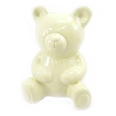 Tirelire 'Bébé Ourson' beige